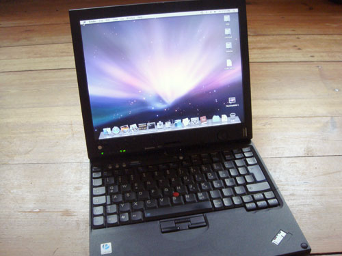 Thinkpad mit Mac OSX
